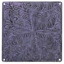 Tile Metal Plate Light Lavender Small 15cm x 15cm - HomeStreetHome.ie