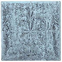 Tile Metal Plate Sky Blue Medium 30cm x 30cm - HomeStreetHome.ie