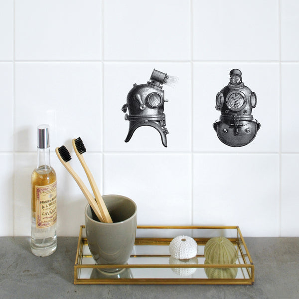 Removeable Wall Tile Motifs - HomeStreetHome.ie