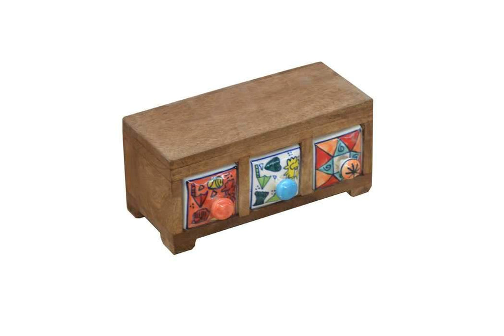 Ceramic Mini Drawers Storage Box - HomeStreetHome.ie
