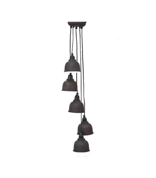 5 Industrial Lights Pendant - HomeStreetHome.ie