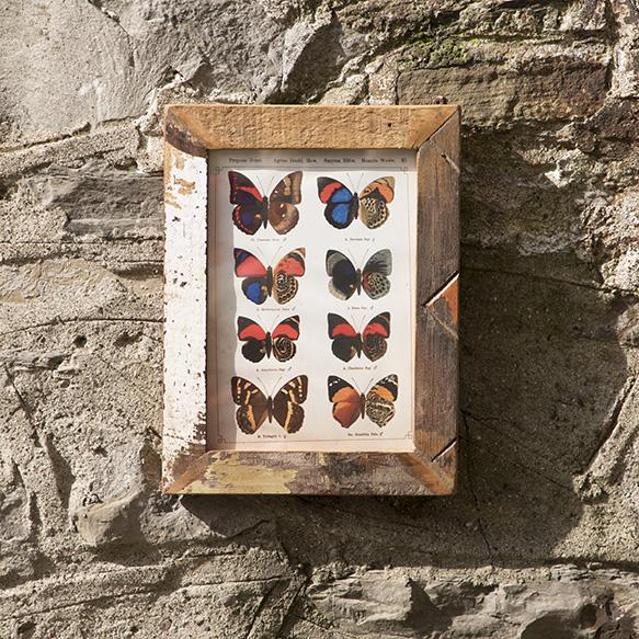 Reclaimed Wood Photo Frame - HomeStreetHome.ie