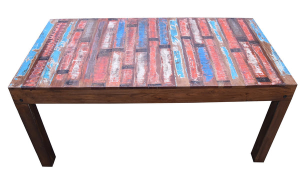 Killala Reclaimed Wood Dining Table - HomeStreetHome.ie