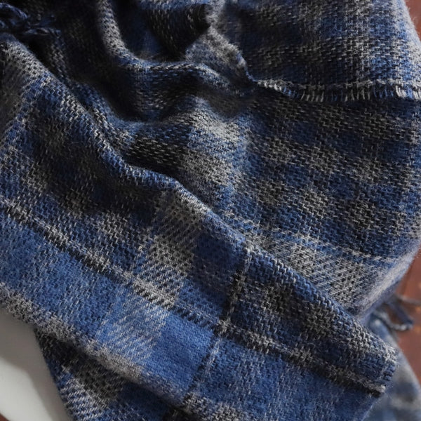Adriatic Wool Throw Blanket - HomeStreetHome.ie