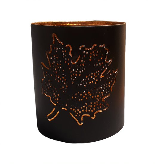 Ahorn Leaf Tealight Holder - HomeStreetHome.ie