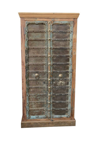 Tall cabinet with 2 Antique doors & 2 shelves HomeStreetHomeD6W