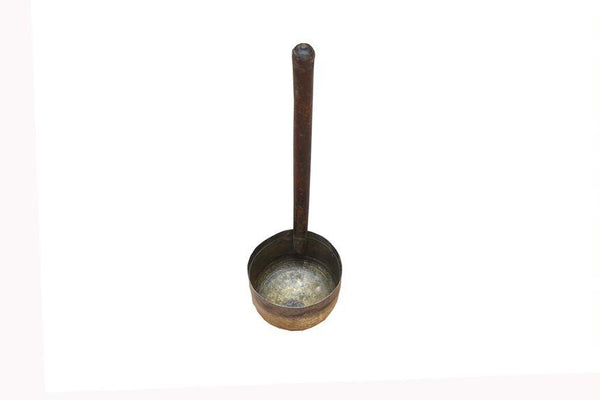 Antique Brass & Copper Ladle - HomeStreetHome.ie