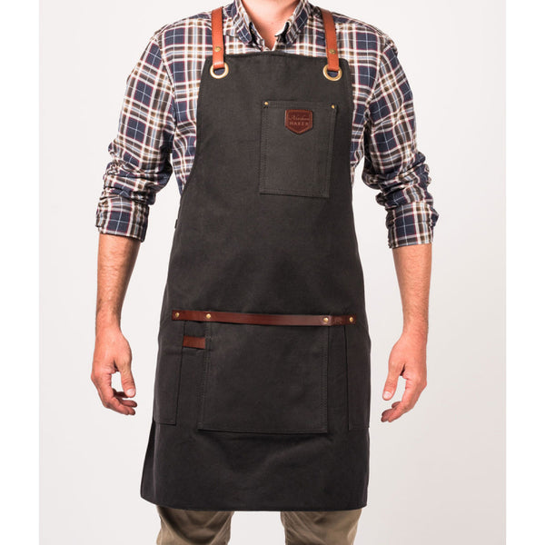 Workshop Apron Waxed Canvas