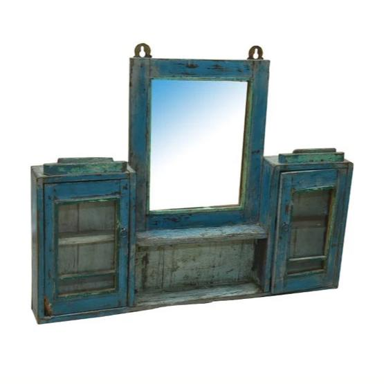 Baltic Hanging Wall Mirror and Cabinet - HomeStreetHome.ie