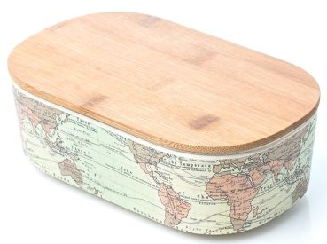 Bamboo Lunch Box - HomeStreetHome.ie