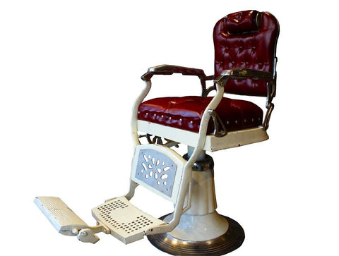 Retro Barber Chair - HomeStreetHome.ie