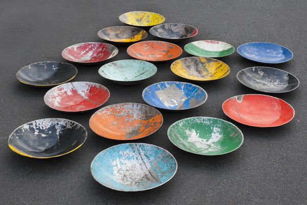Recycled Oil Barrel Bowl - HomeStreetHome.ie