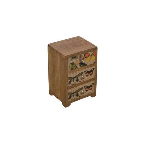Butterflies Mini Drawers Storage Box - HomeStreetHome.ie
