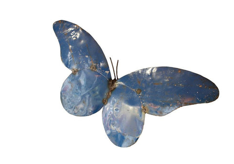 XL Recycled Metal Butterfly - HomeStreetHome.ie
