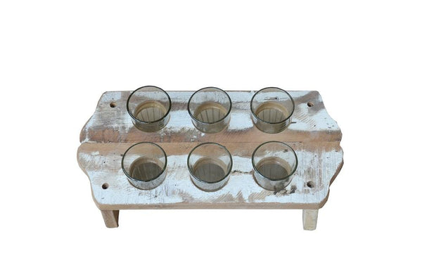 Chai Tray with Glasses - HomeStreetHome.ie