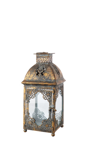 Chantal Metal Lantern - HomeStreetHome.ie