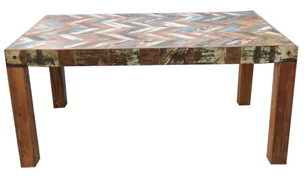 Chevron Dining Table - HomeStreetHome.ie