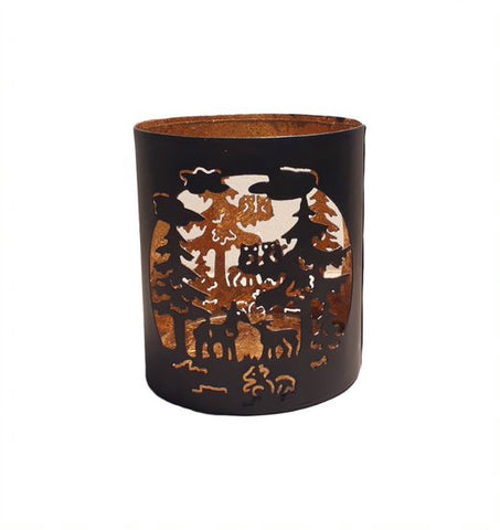 Christmas Tealight Holder - HomeStreetHome.ie