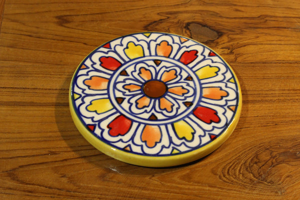 Handpainted Ceramic Coasters - HomeStreetHome.ie