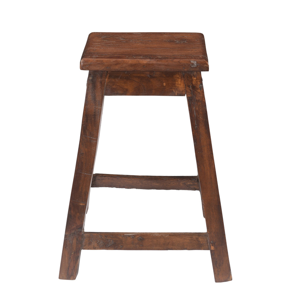 Country Small Stool Natural