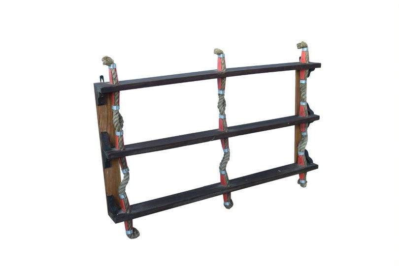 Double Ship Ladder Wall Shelves - HomeStreetHome.ie
