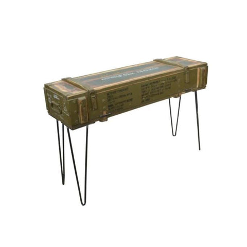 Army Crate Console - HomeStreetHome.ie