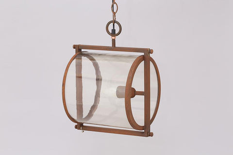 Glass Cylinder Hanging Ceiling Light - HomeStreetHome.ie