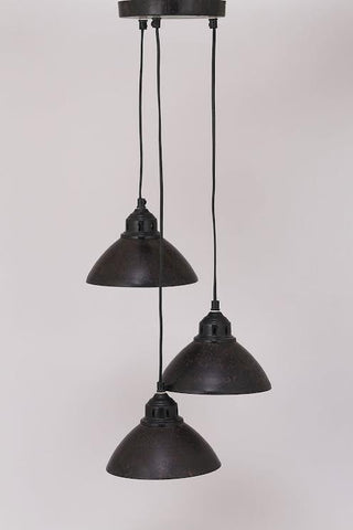 3 Industrial Lights Pendant - HomeStreetHome.ie