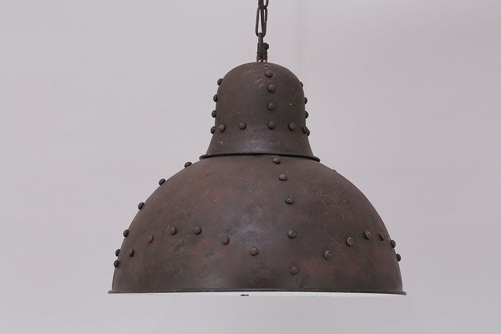 Industrial Rivet Pendant Light - HomeStreetHome.ie