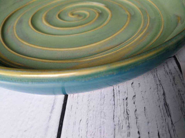 Handcrafted Ceramic Serving Plate - HomeStreetHome.ie