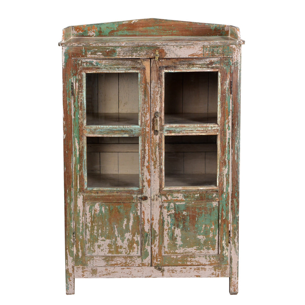 Forest Glass Cabinet