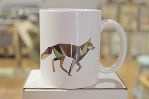 Running Animal Mug by Irish Designer Stencilize - HomeStreetHome.ie