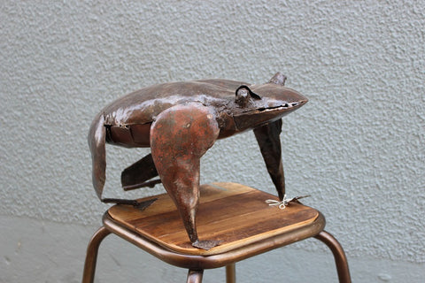 Metal Art Frog XL - HomeStreetHome.ie