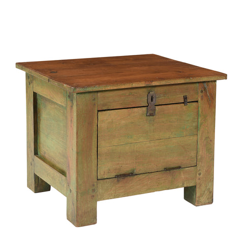 Greeness Small Storage Coffee Table