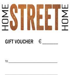 Gift Voucher - HomeStreetHome.ie