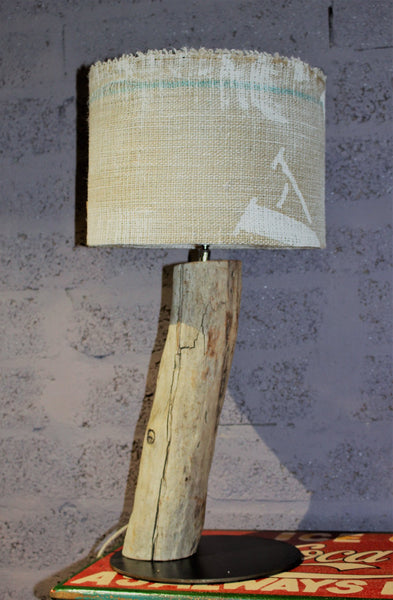 Driftwood Lamp Hessian - HomeStreetHome.ie