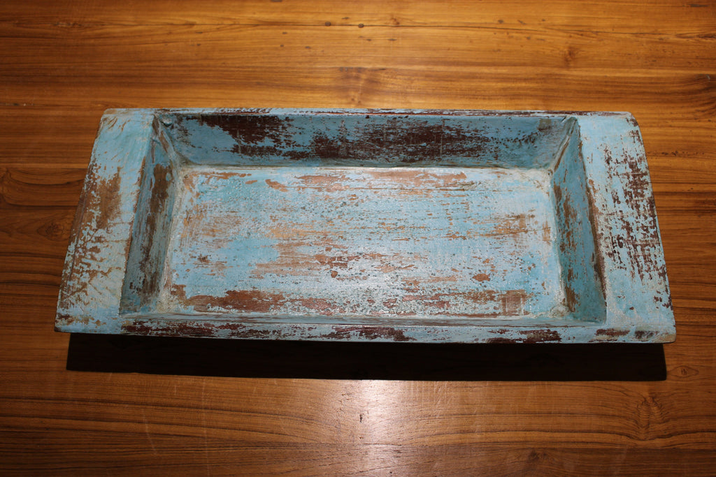 Traditional Indian Teak Tray - Platter - HomeStreetHome.ie