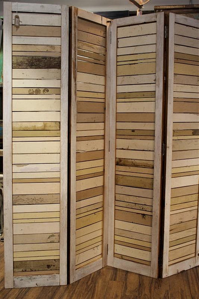 Reclaimed Wood Screen - HomeStreetHome.ie