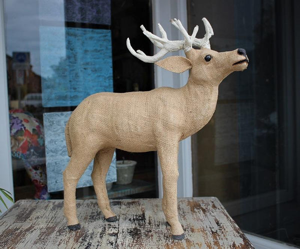 Extra Large Reindeer Paper Mache - HomeStreetHome.ie