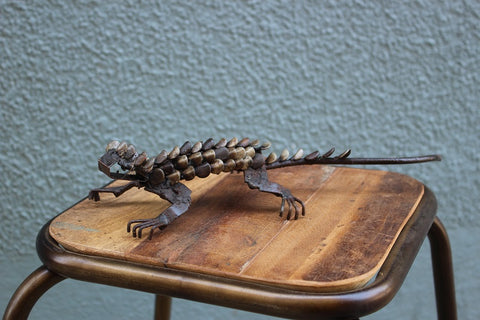 Iguana Recycled Metal - HomeStreetHome.ie