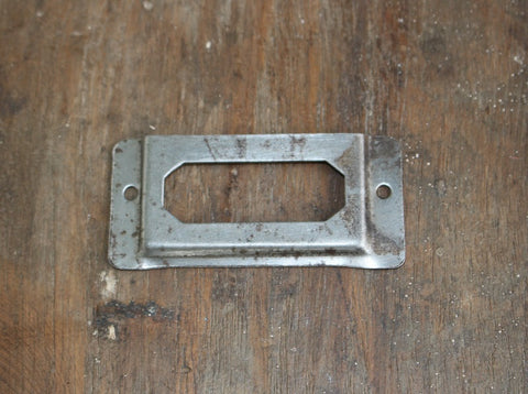 Rustic Metal Label Holder - HomeStreetHome.ie