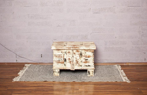 Small Handmade Indian Storage Trunk - HomeStreetHome.ie