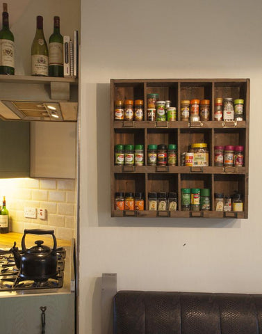12 Compartment Spice Storage Rack - HomeStreetHome.ie