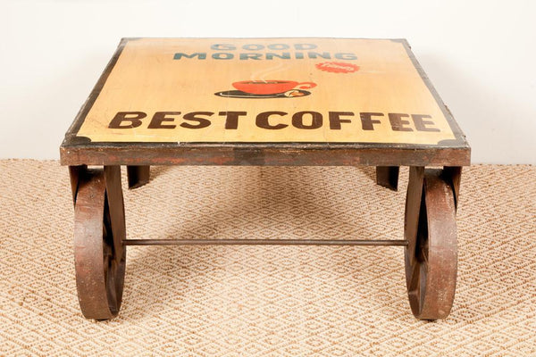 Good Morning Coffee Table. - HomeStreetHome.ie