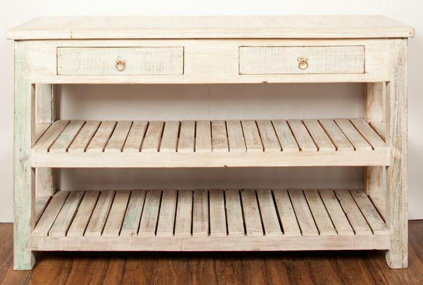 Shabby Chic White Kitchen Farmhouse Dresser - HomeStreetHome.ie