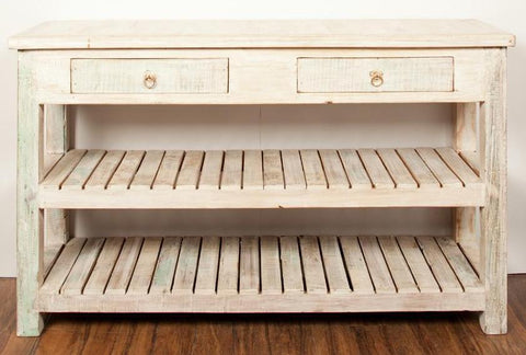 Antique White Kitchen Sidedresser - HomeStreetHome.ie