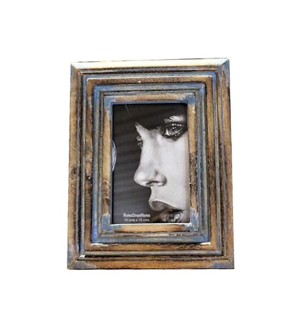 Molded Mango Wood Photo Frame - HomeStreetHome.ie