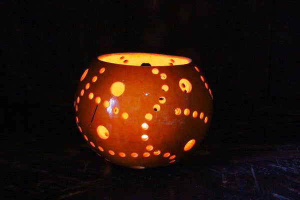 Mini Calabash Tealight Candle Holder - HomeStreetHome.ie
