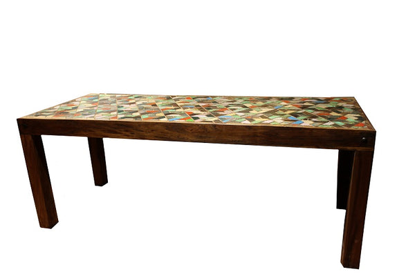 Mosaic Dining Table - HomeStreetHome.ie