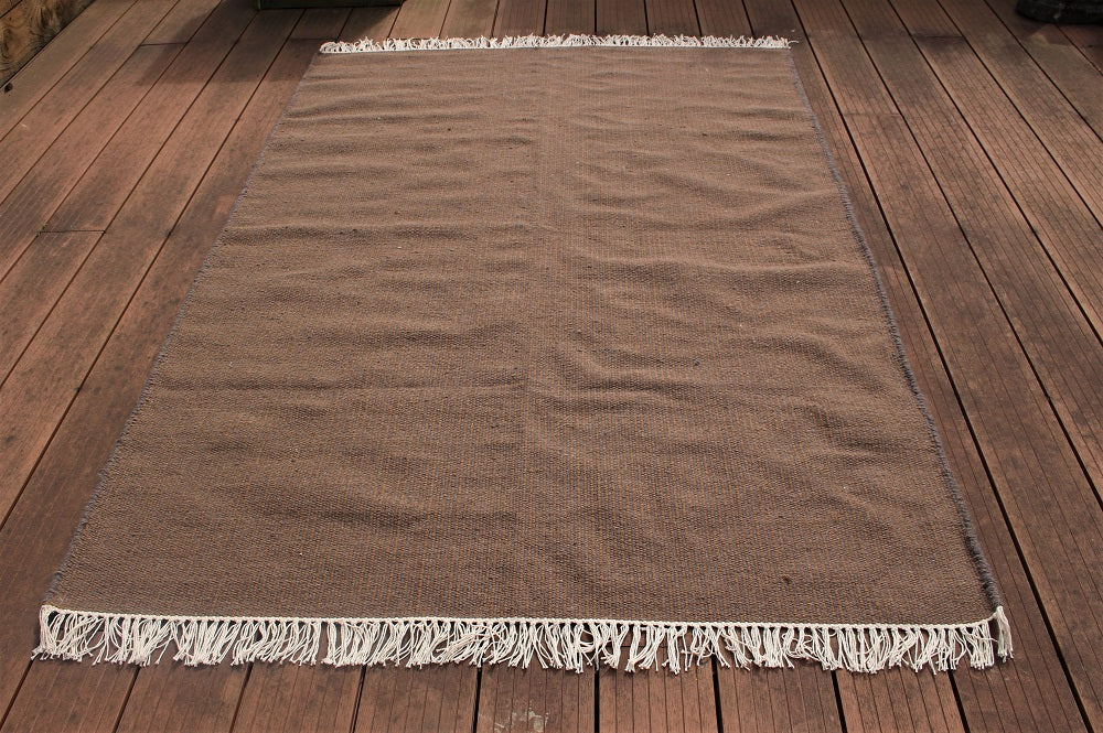 Moss Wool & Organic Cotton Rug - HomeStreetHome.ie